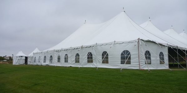 Tension Pole Tents are available in 60u2032 to 100u2032 widths. With a center pole height of 35u2032 and perimeter legs of 10u2032 high these tents are great for large ... & Tension Pole Tent Rentals u2013 Avalon Tent